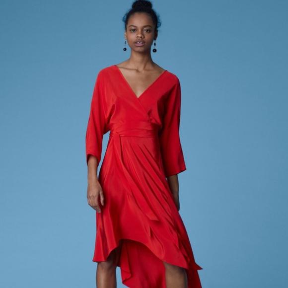 6cbda96ec7bbd Diane Von Furstenberg Dresses | New Dvf Eloise Asymmetric Mini Dress ...